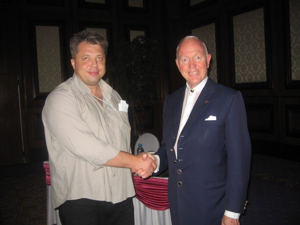 Algirdas Karalius ir Tony Buzan
