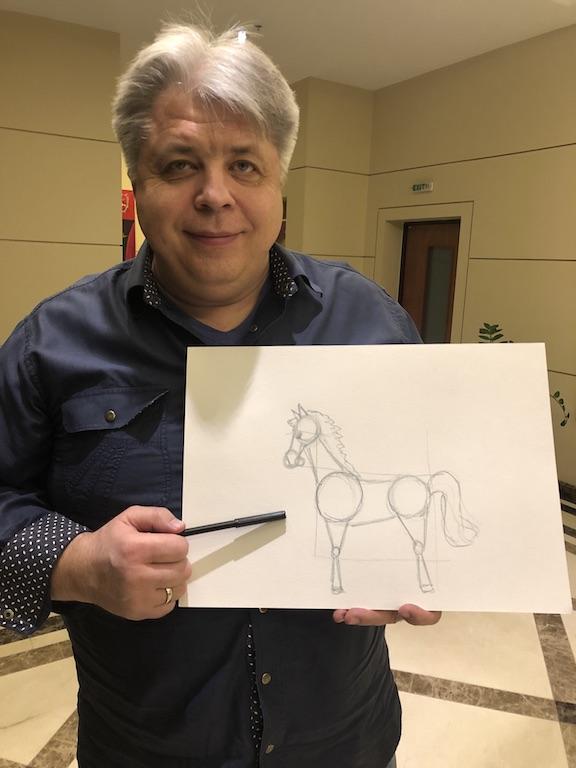 mokomes piesti arkli