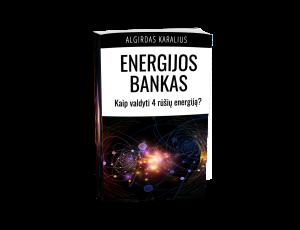 Energijos bankas ebook cover